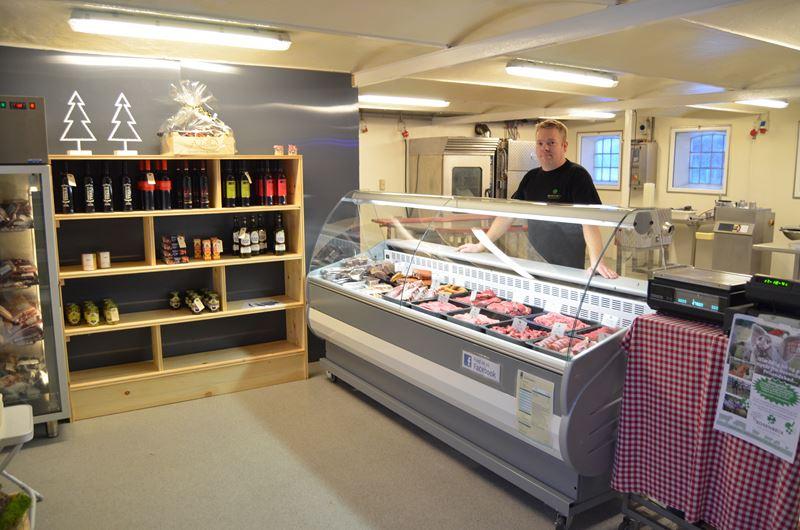 Gårdbutik i Nordjylland